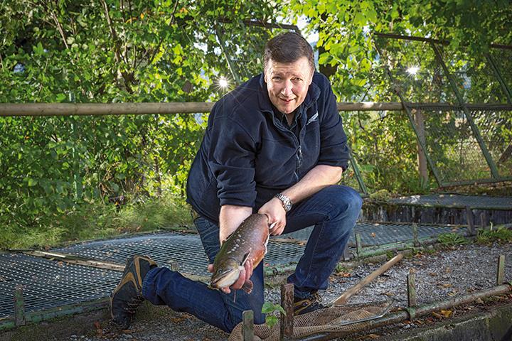 Walter Grüll ist erfolgreicher Kaviarproduzent