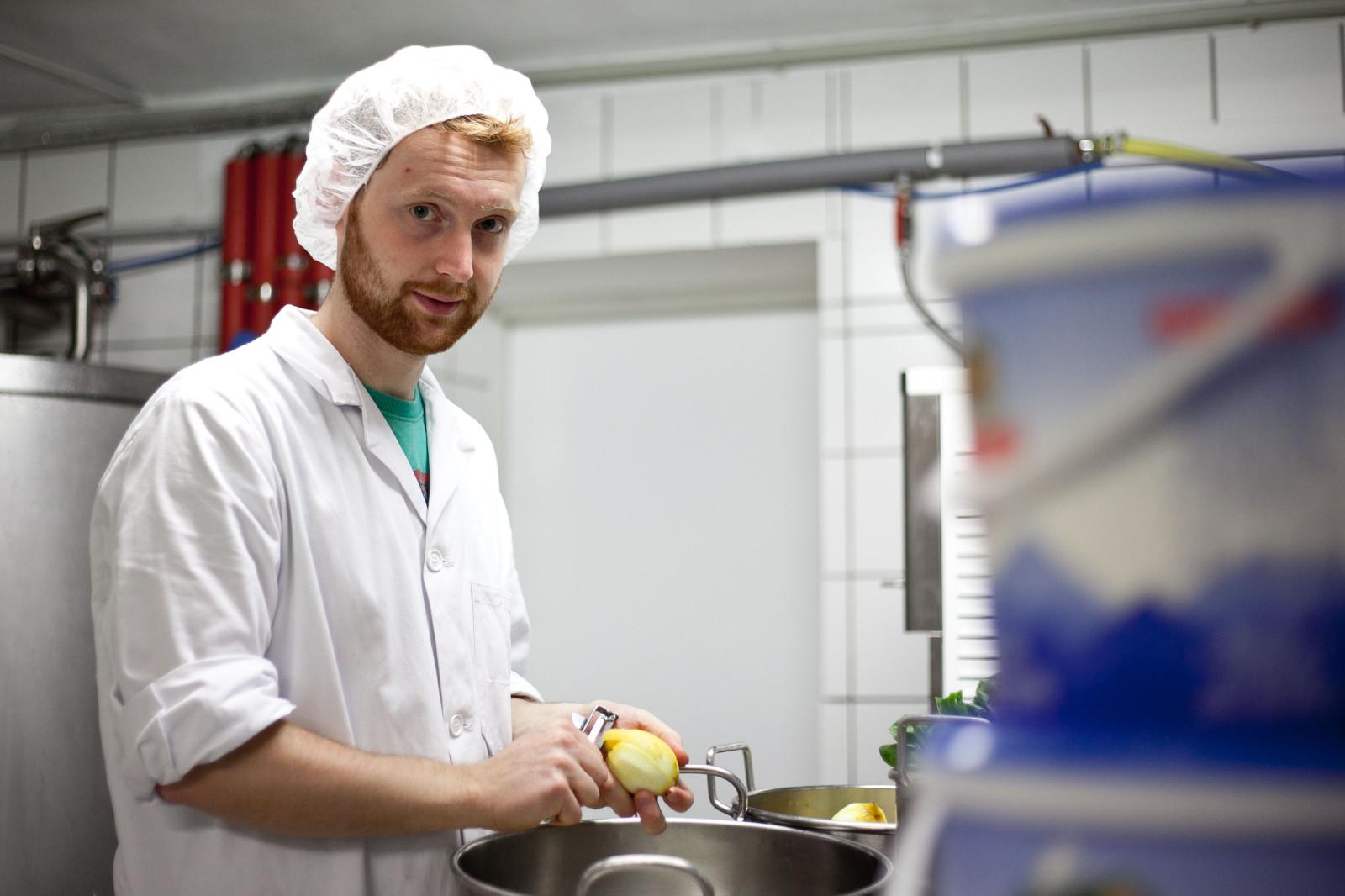 Daniel Erlinger in der Produktion