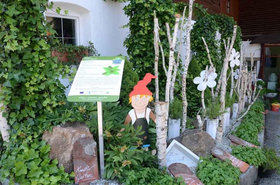 Kreativgarten in Mattsee