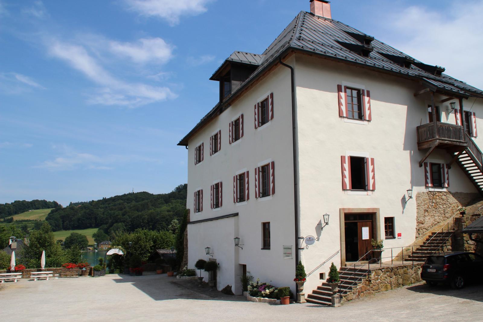 Das Schloss Mattsee.