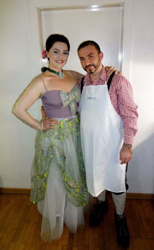 Anna Ryan und Ehemann