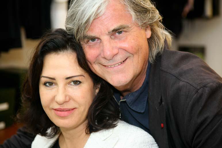 Brigitte Karner und Peter Simonischek