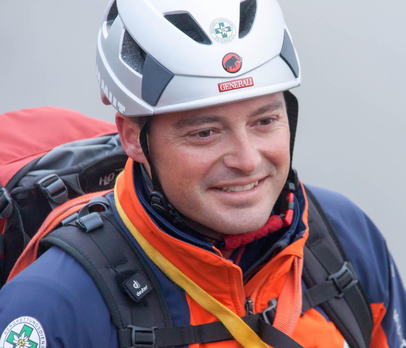 Der Chef der Ortsstelle Dienten, Christoph Portenkirchner