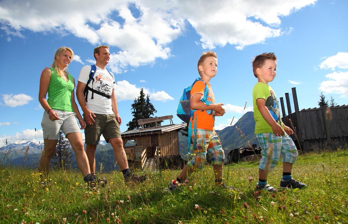 Familienwanderung Gamssteig-Tour in Großarl