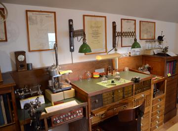 Uhrmacherwerkstätte