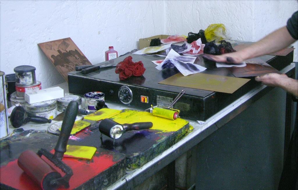 Kreatives Werken im Traklhaus