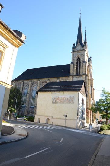 Annakapelle und Dom