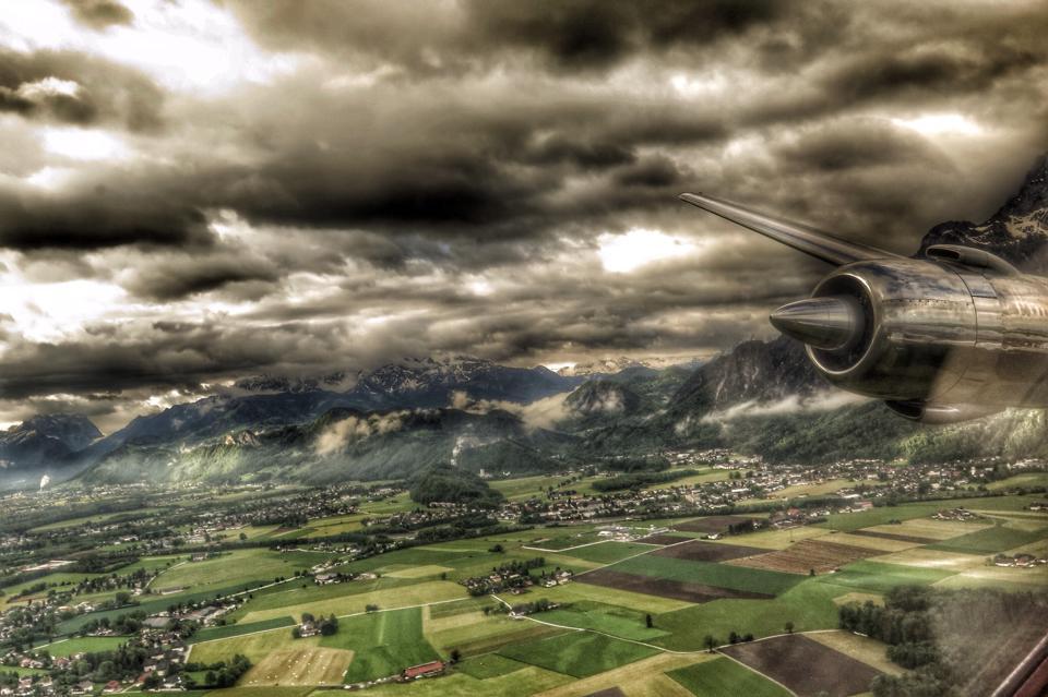 Hallein und das Tennengebirge ©Frederic Handelmann