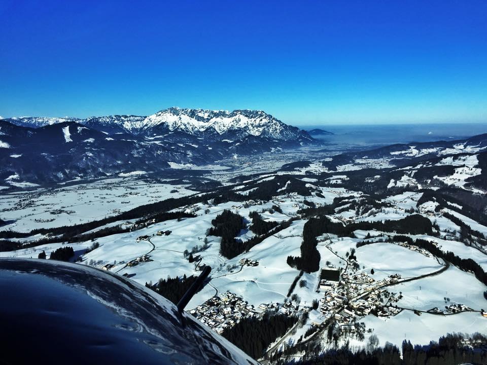 Das Salzachtal und der Untersberg ©Frederic Handelmann