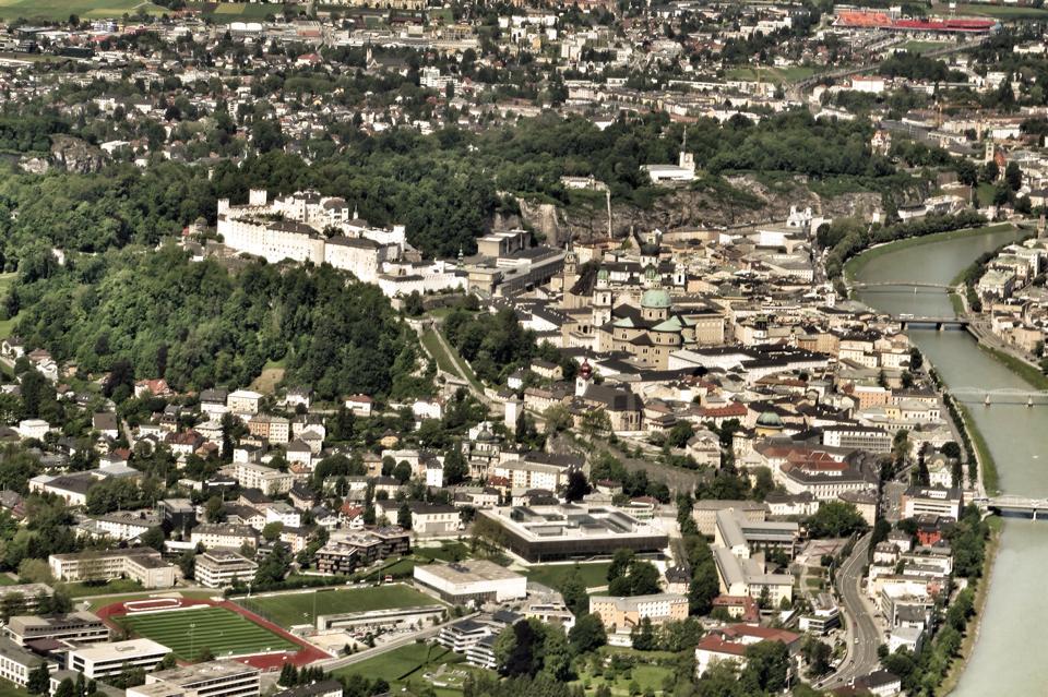 Salzburg Stadt ©Frederic Handelmann