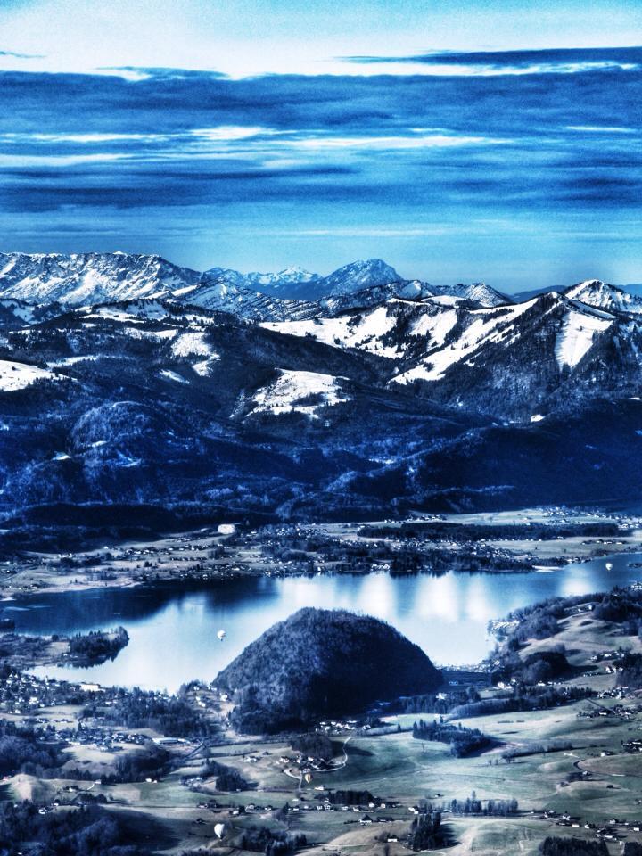 Der Wolfgangsee ©Frederic Handelmann