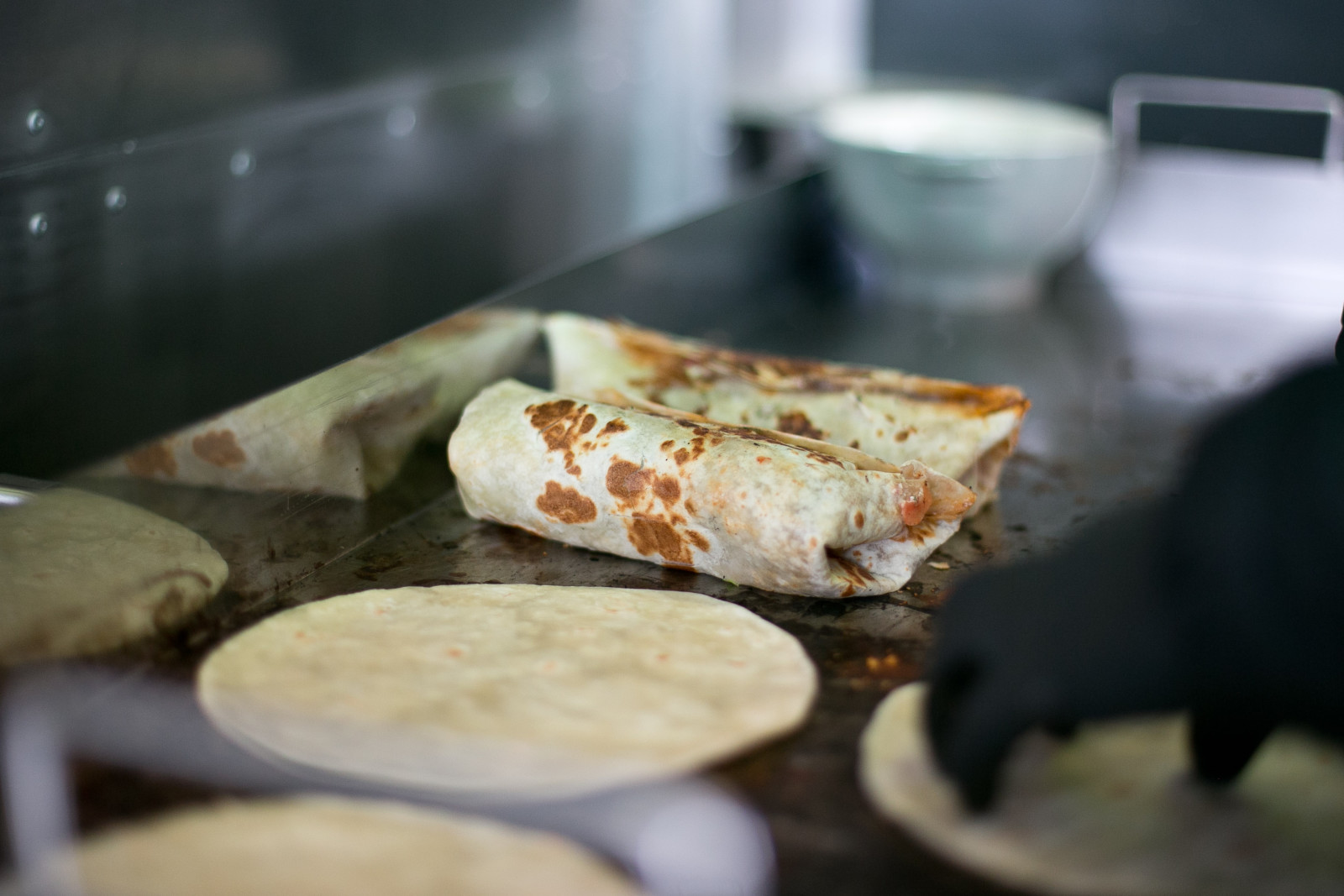 Burrito am Grill