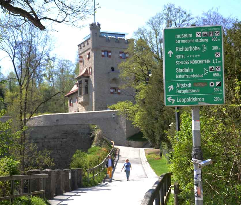 Wanderung auf dem Mönchsberg