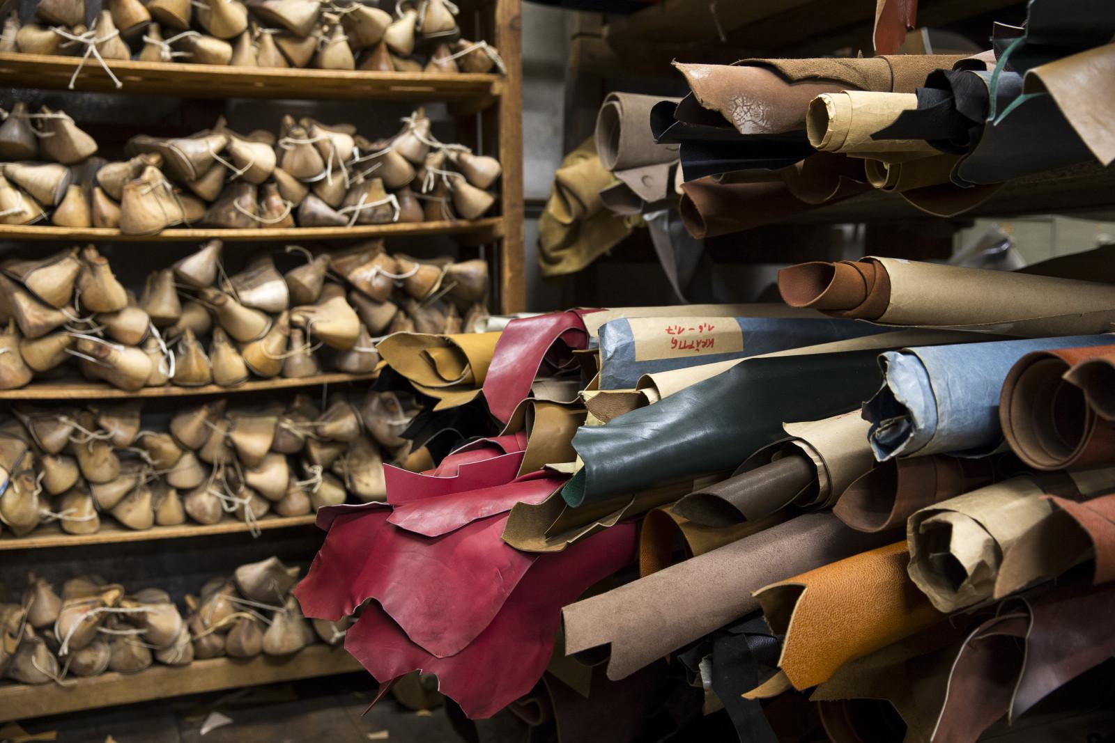 Leder, Leisten - die Zutaten für einen Maßschuh