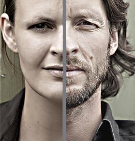 Eine perfekte Einheit: Habersatter und seine Frau Kim, ebenfalls Künstlerin ©RaumWerk