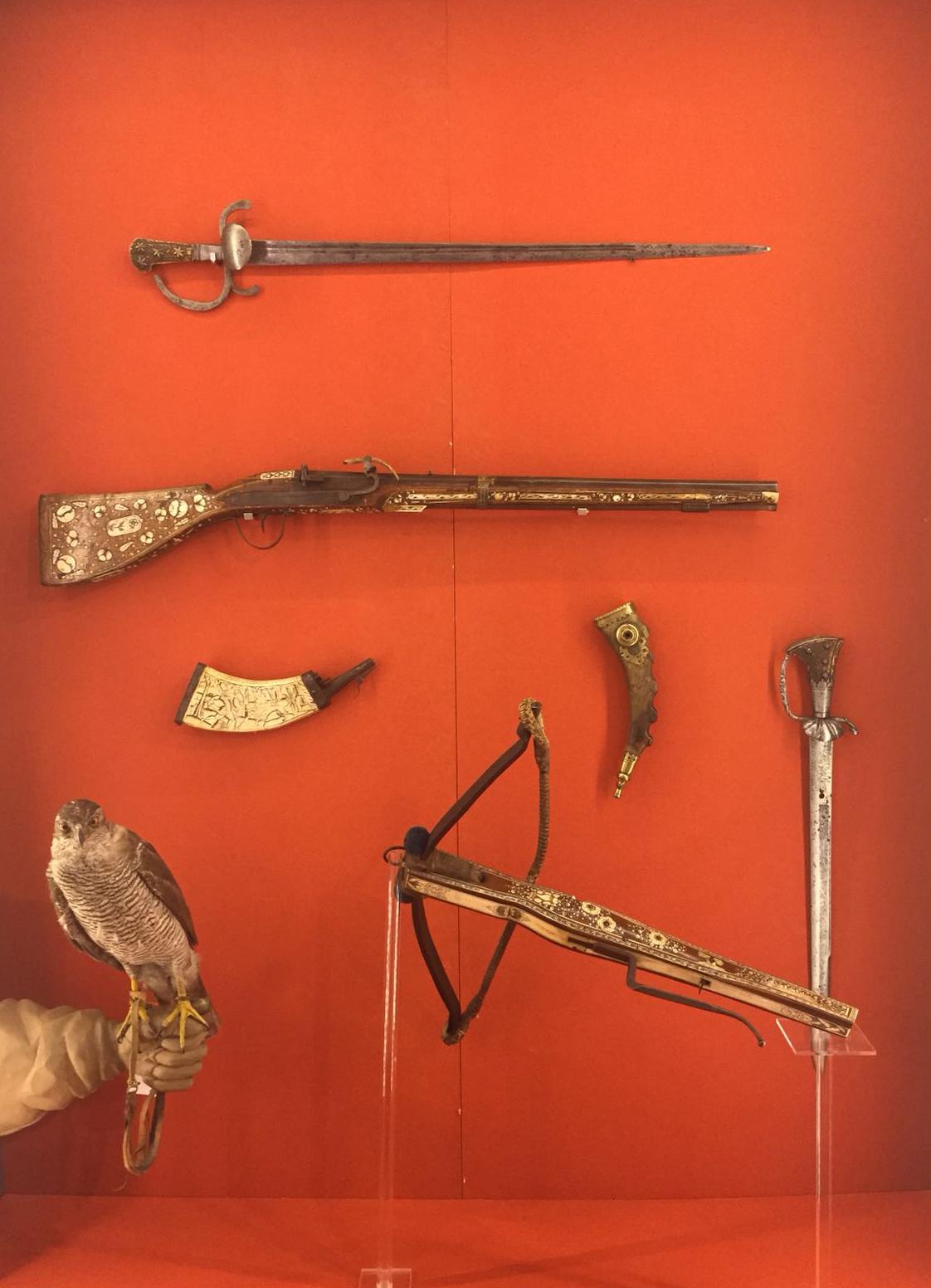 Alte Jagdwaffen