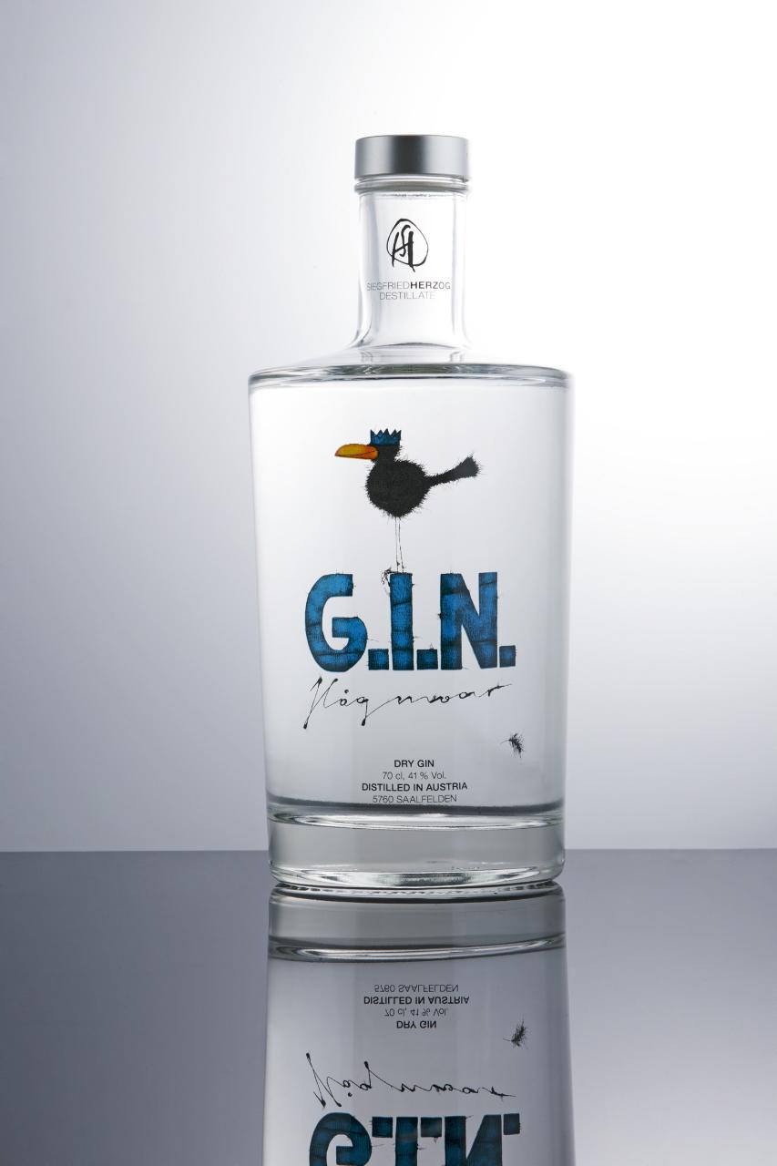 Der Gin Hagmoar hat in den letzten Jahren für großes Aufsehen bei Liebhabern gesorgt ©Destillerie Herzog