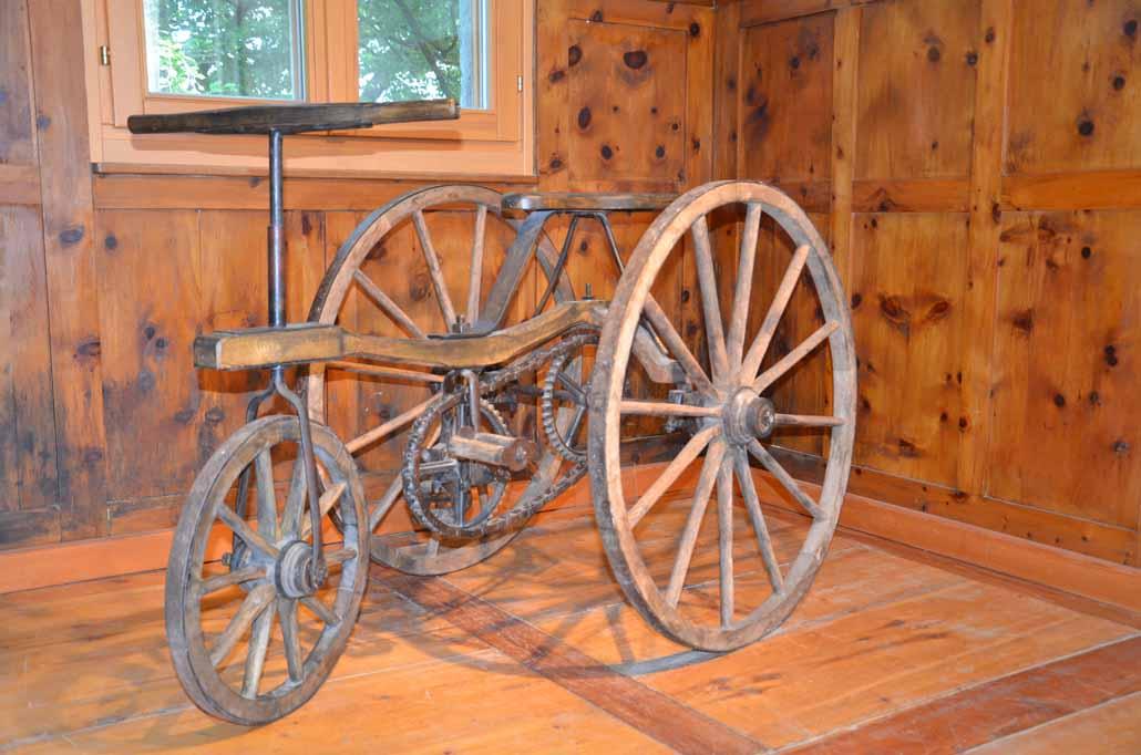 Holzrad aus dem Lungau