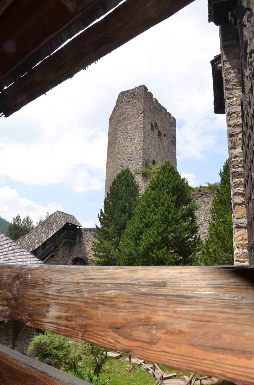 Ruine der Grenzburg
