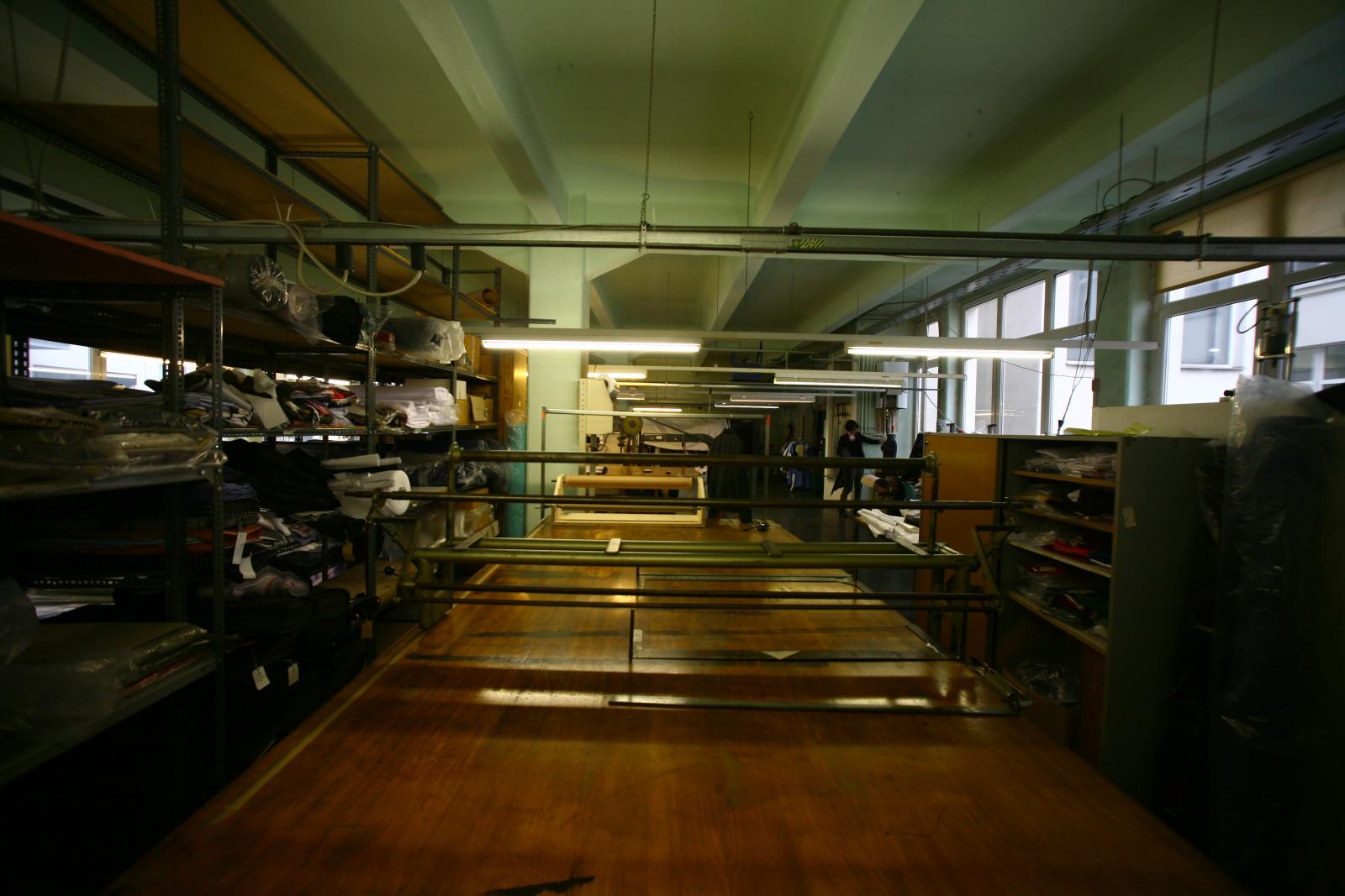 Die Produktionsstätte in Wien.