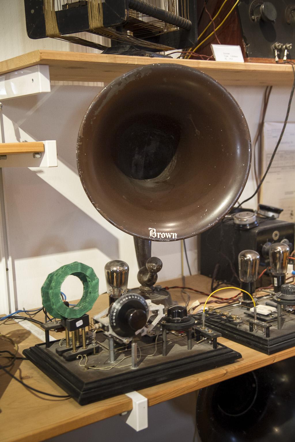 Detektorempfänger inkl. Lautsprecher