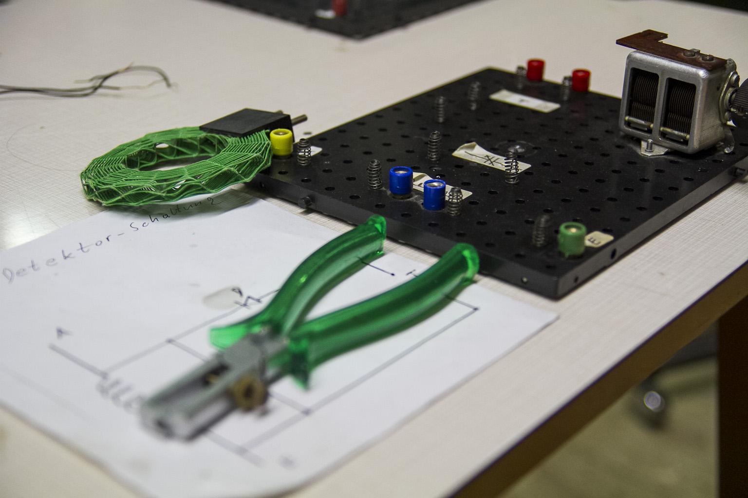 Detektorschaltung zum Selberbasteln