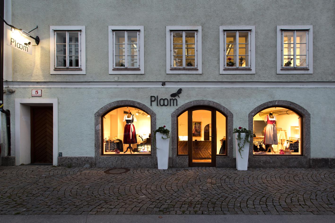 Laden und Atelier am Ursulinenplatz.