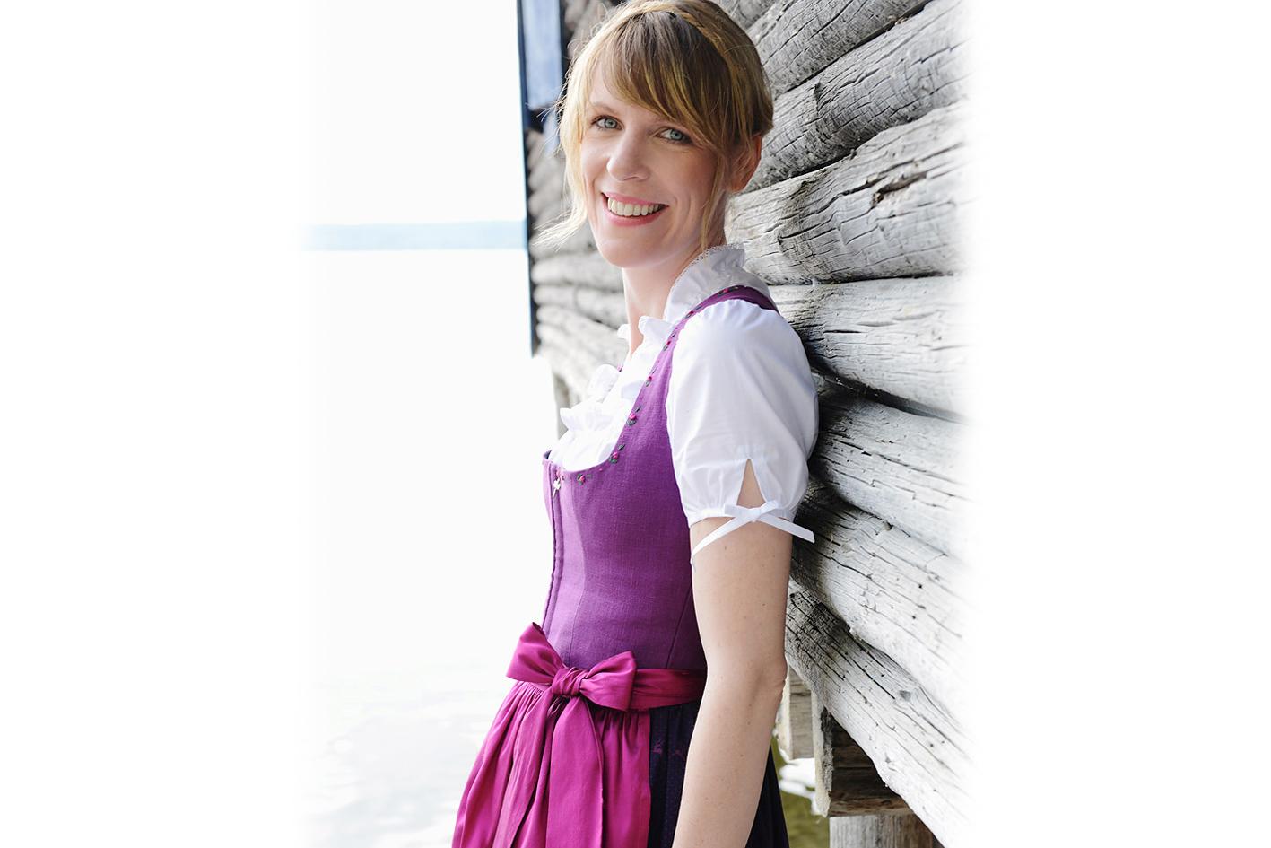 Jung und kreativ: Tanja Pflaum.