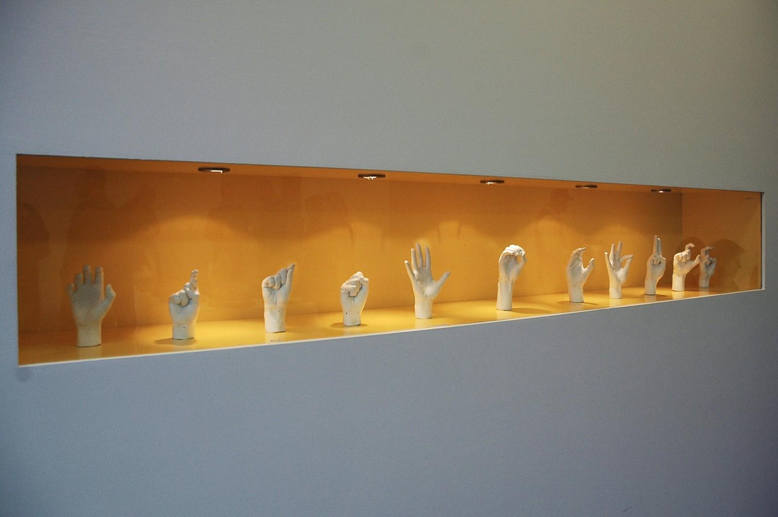 The Artist's left Hand ©Jürgen Fux