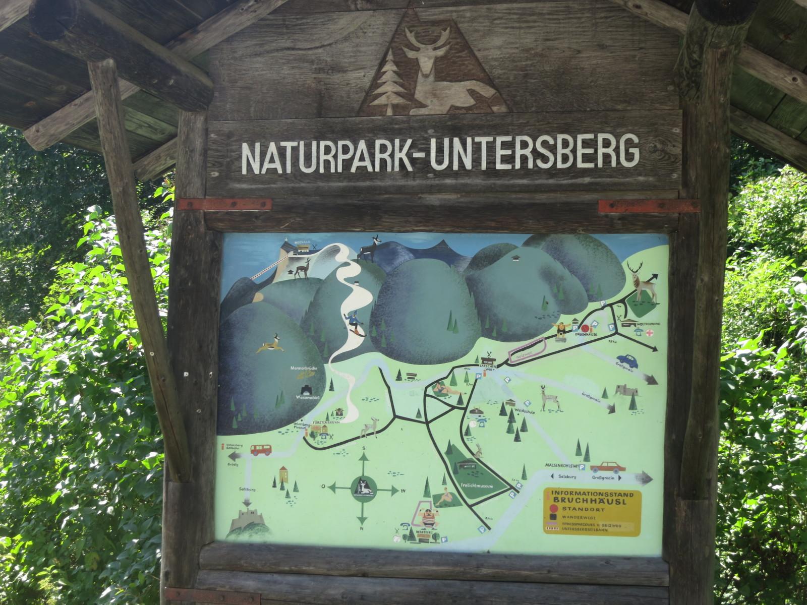 Vom Naturpark Untersberg