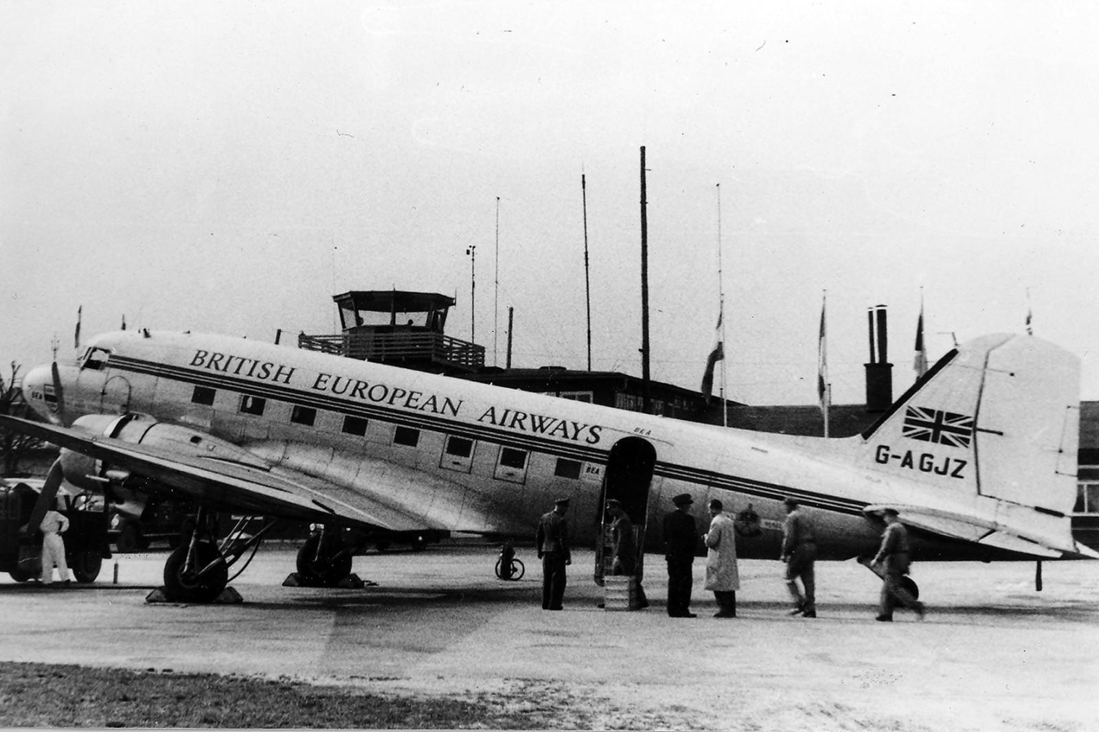 Eine DC 3 der BEA