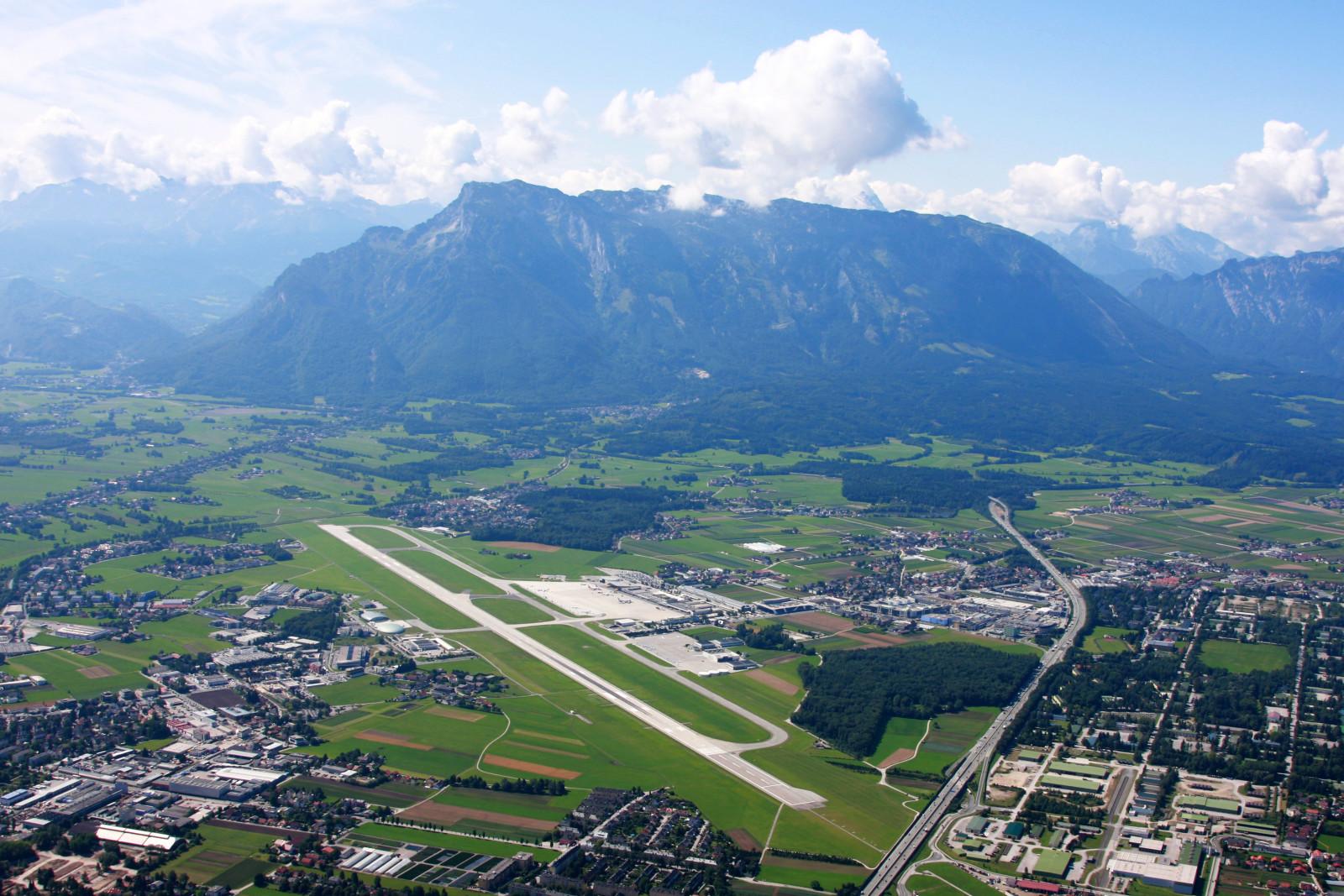 Die herrliche Kulisse der Alpen