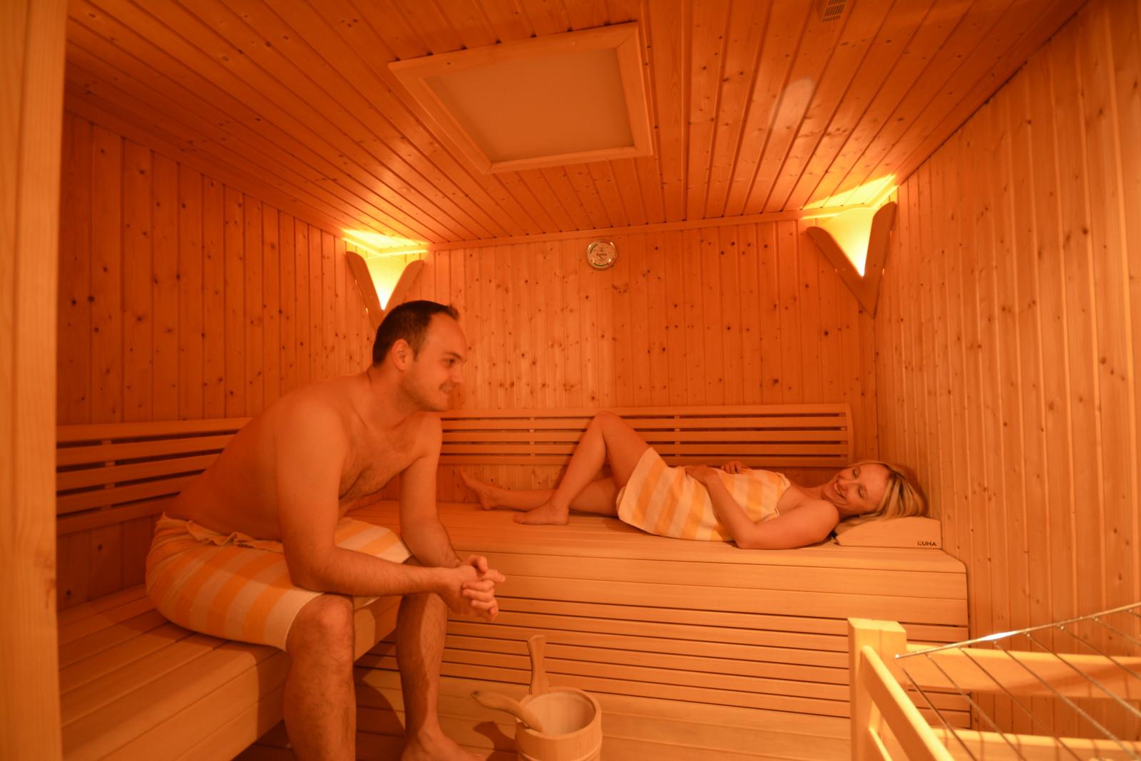 Die gemütliche Sauna