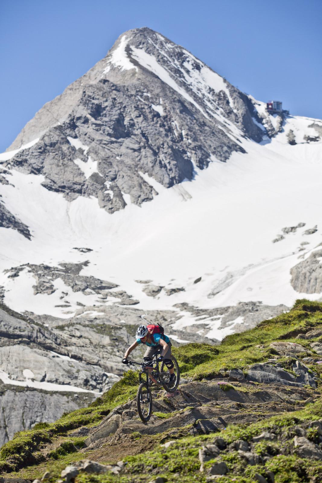 Trails am Kitzsteinhorn