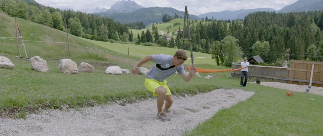 Bei Gernot Schweizer wird bis zur nahen Ohnmacht trainiert