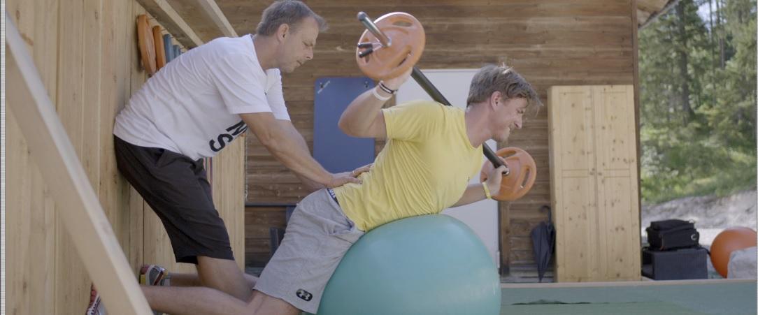 Durch das Training mit Gernot Schweizer entwickelte sich Max Franz zu einem Vorzeige-Athleten