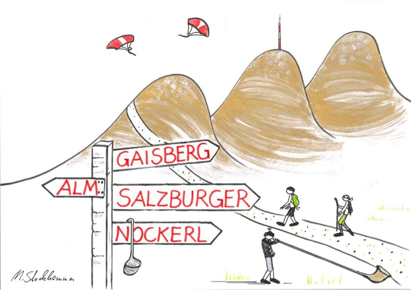 Die drei süßen Gipfel rund um Salzburg