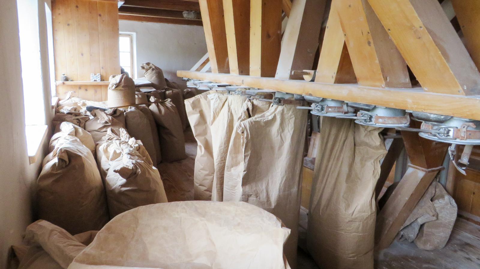 Seit 1638 wird in der Fuchsmühle gemahlen.