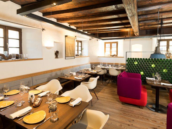 Das kleine aber feine Restaurant der Speisenmeisterei.