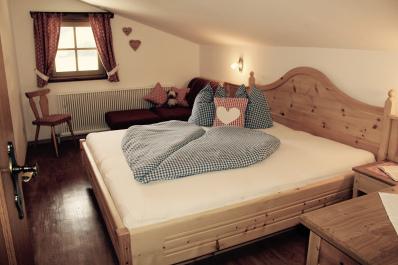 Liebevoll dekorierte Zimmer