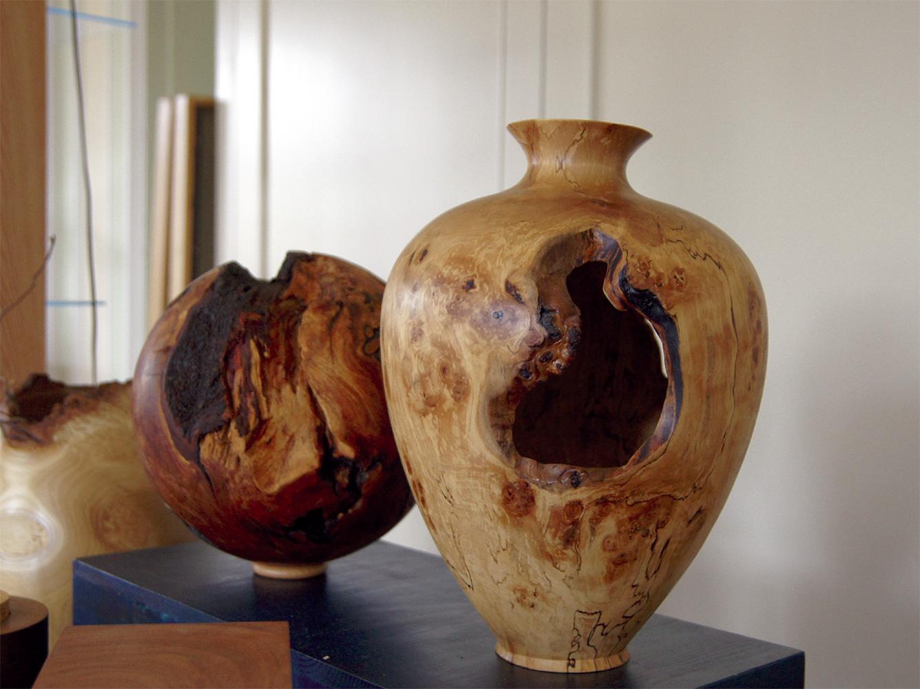 Holzarbeiten bei der KreARTiv. (c) Atelier Stidl