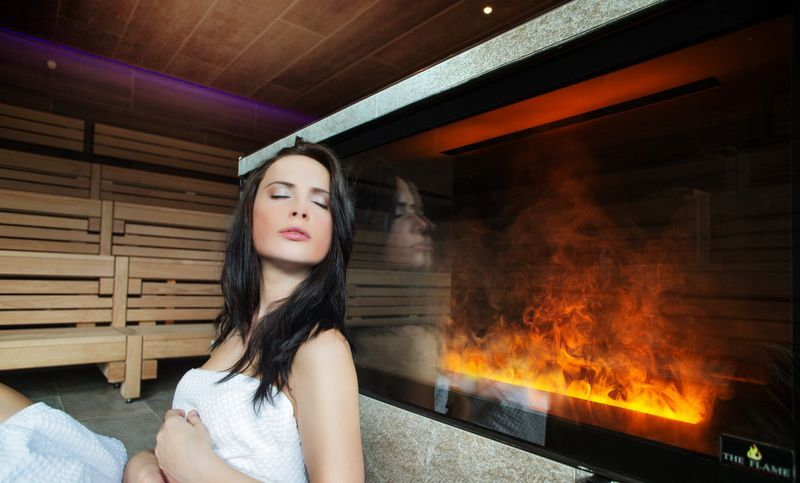 Öffentliche Sauna im Aqua Salza