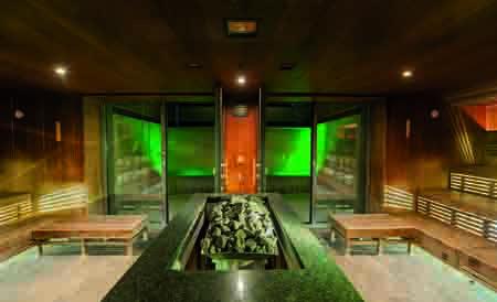 Schöne Sauna