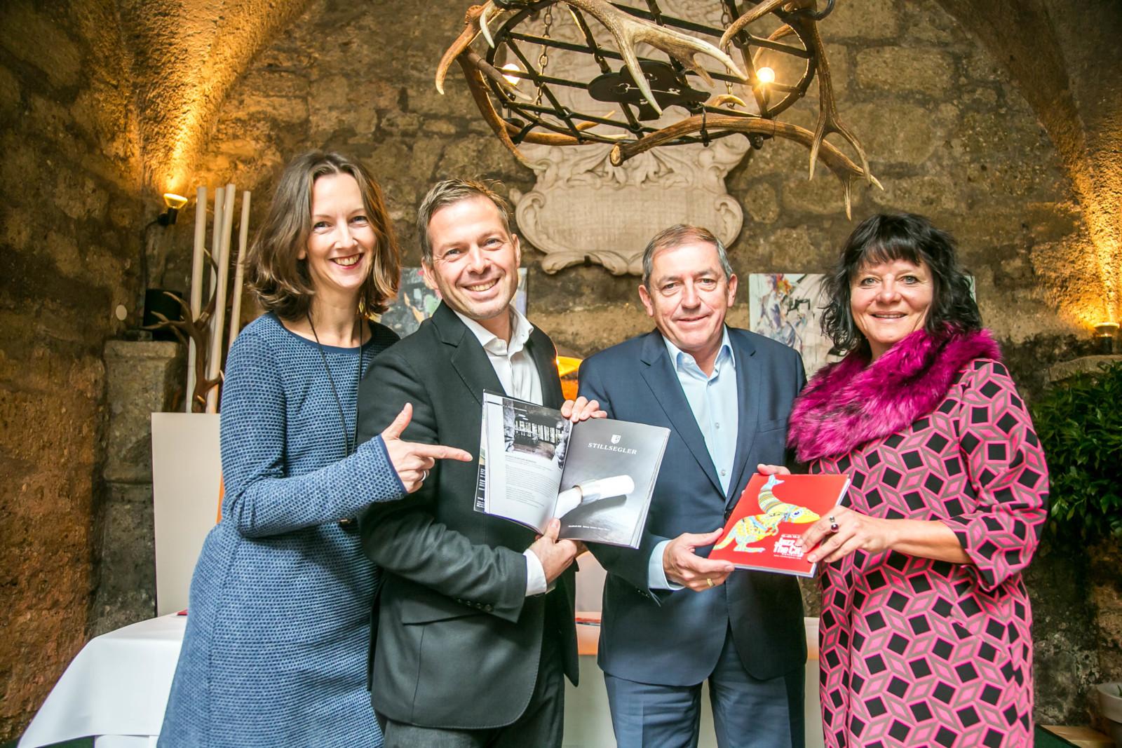 Tina Heine,  Andreas Gfrerer, Heinz Schaden, Bürgermeister, Inga Horny, Altstadtmarketing.   (c)wildbild