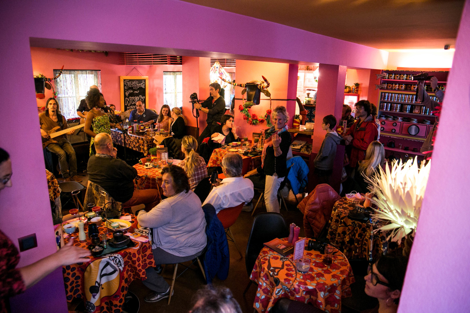Jazz and the City, Afro Cafe (c) wildbild