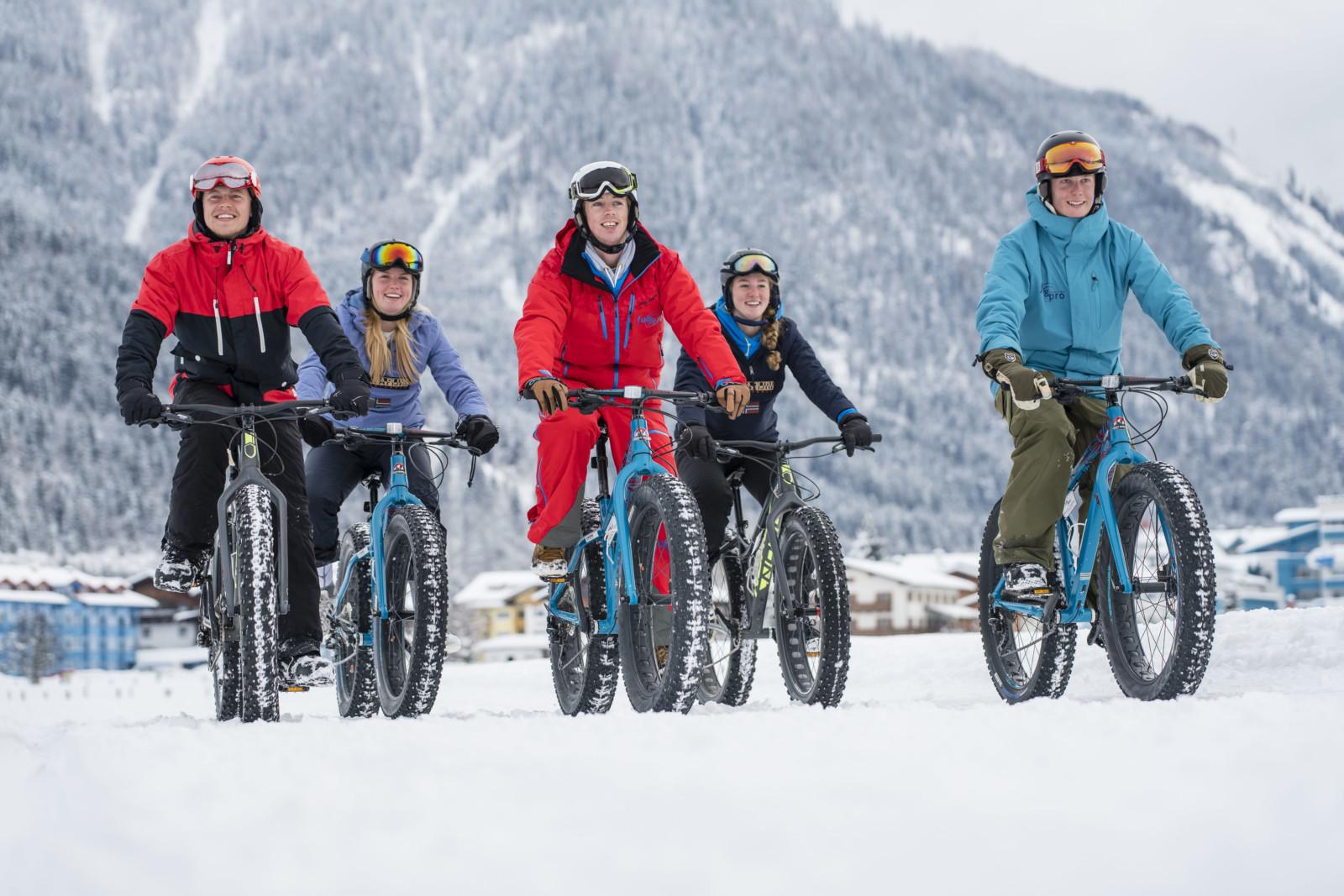 fun&pro bietet geführte Fatbike Touren (c)wildbild/Kirchmaier