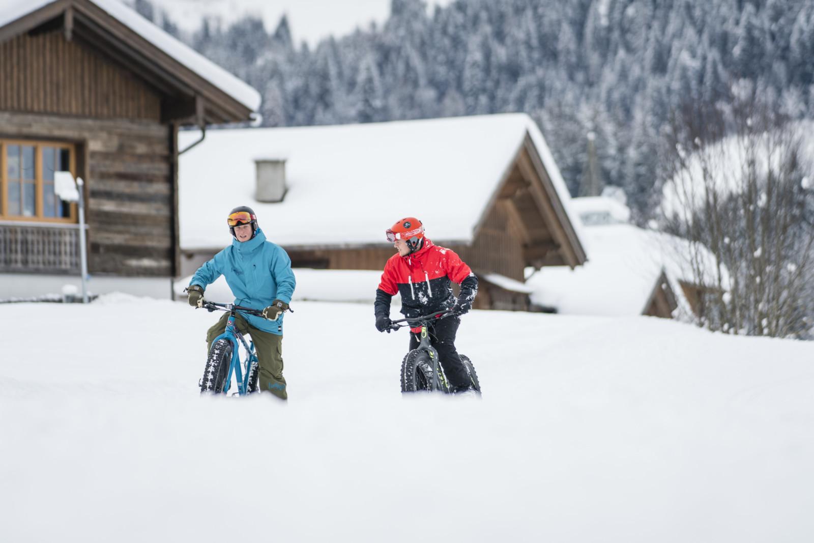 Das Fatbike für den Winter  (c)wildbild/Kirchmaier