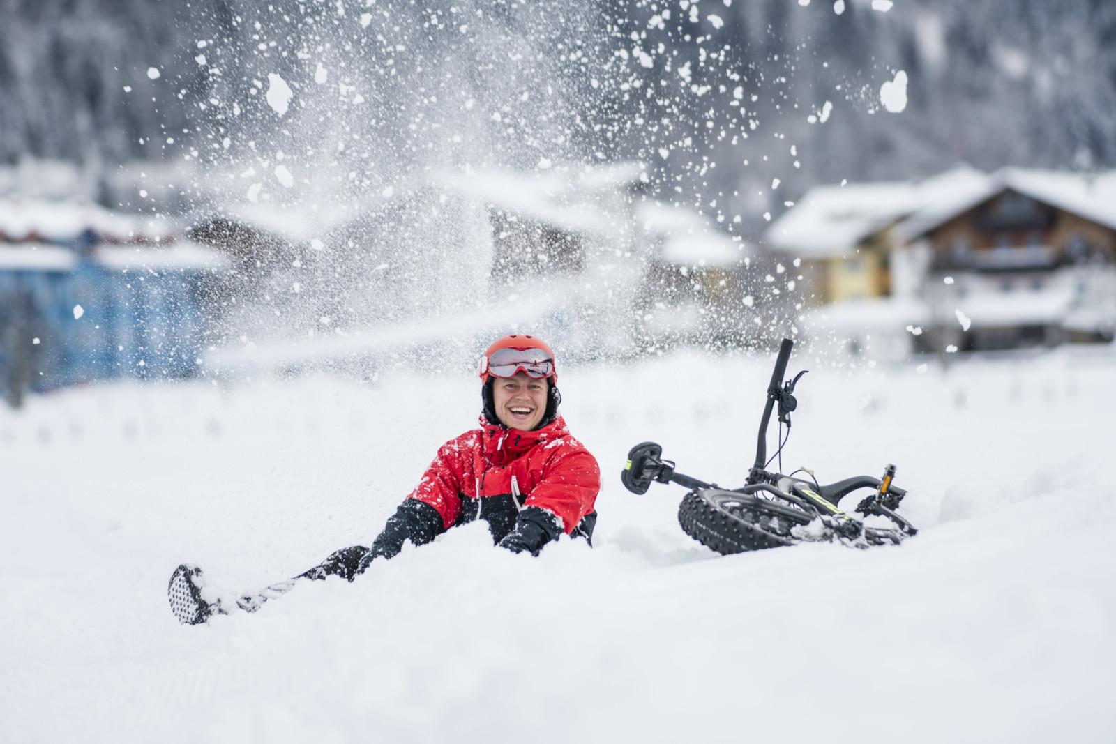 Spaß im Schnee  (c)wildbild/Kirchmaier