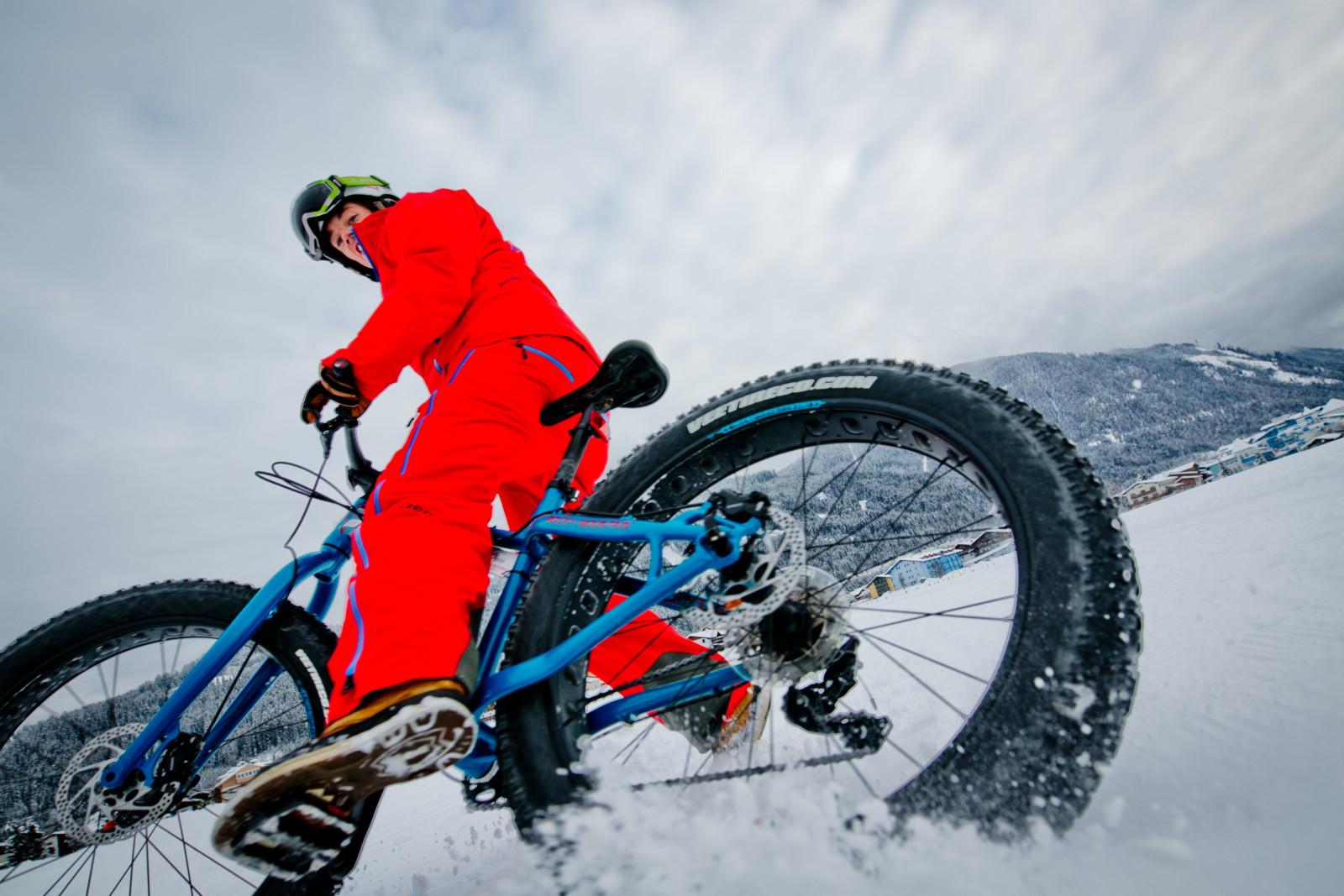 Fatbike, Fun&Pro, Funsport, Schnee, Winter, Wintersport, Wintertourismus,  Rad, Urlaub, Tourismus, Flachau, Salzburg, 20160109, (c)wildbild
