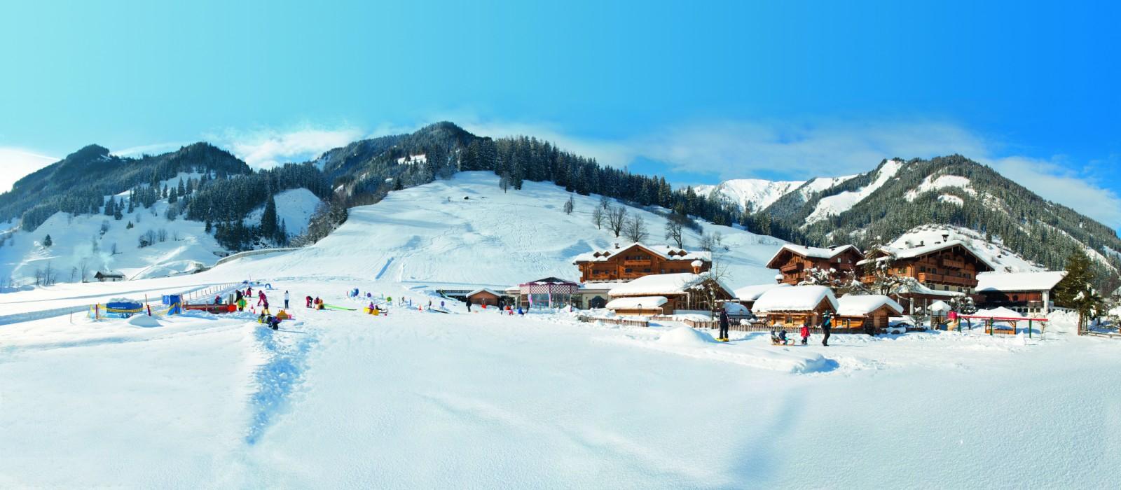 Perfekte Bedingungen für Skiurlaub